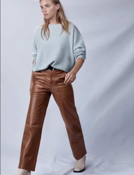 Pantalon en cuir : le battle tout-terrain
