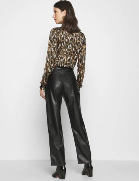 Pantalon en cuir : le faux jean