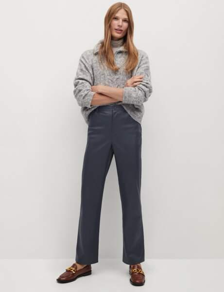 Pantalon en cuir : le droit ultra chic