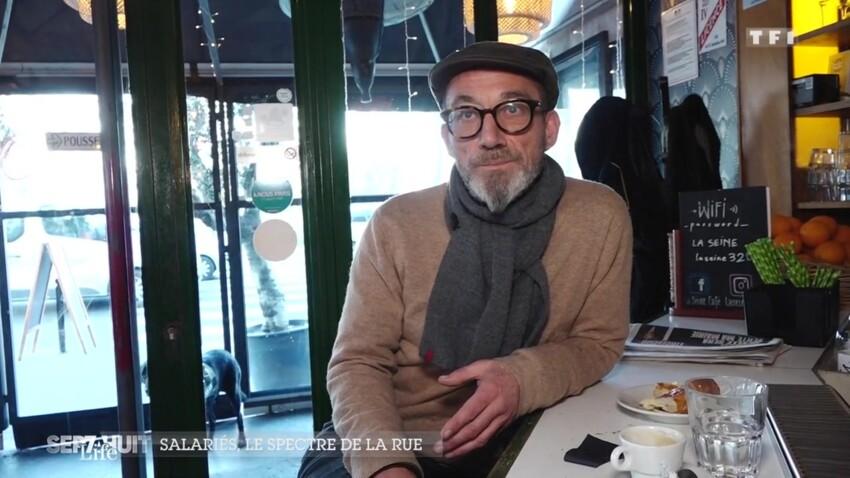 """""""Sept à huit"""" : Didier, boucher-charcutier et SDF... un témoignage bouleversant"""