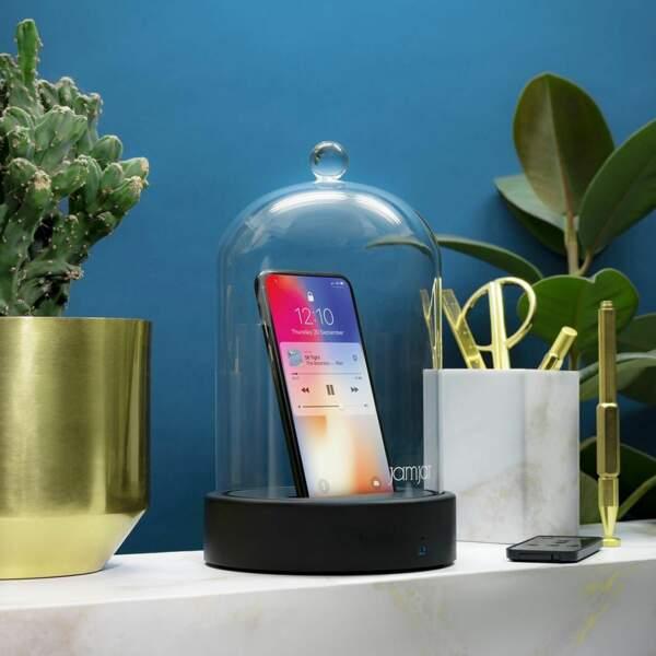 Cadeaux Folies : Couvercle de verre avec haut-parleur Bluetooth