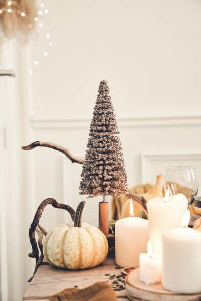 Arbre de Noël de table