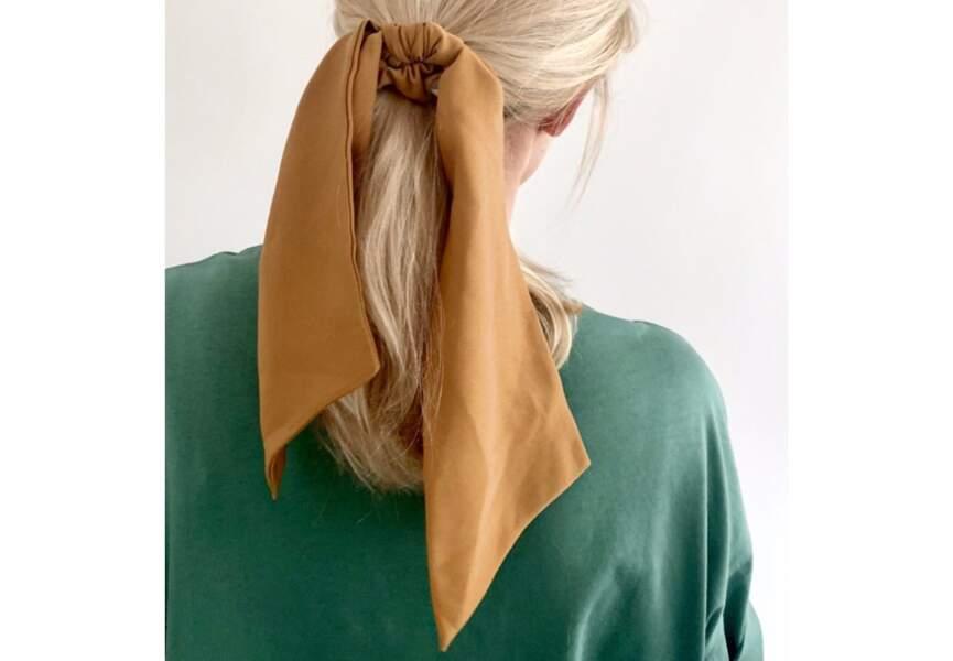 Un chouchou foulard