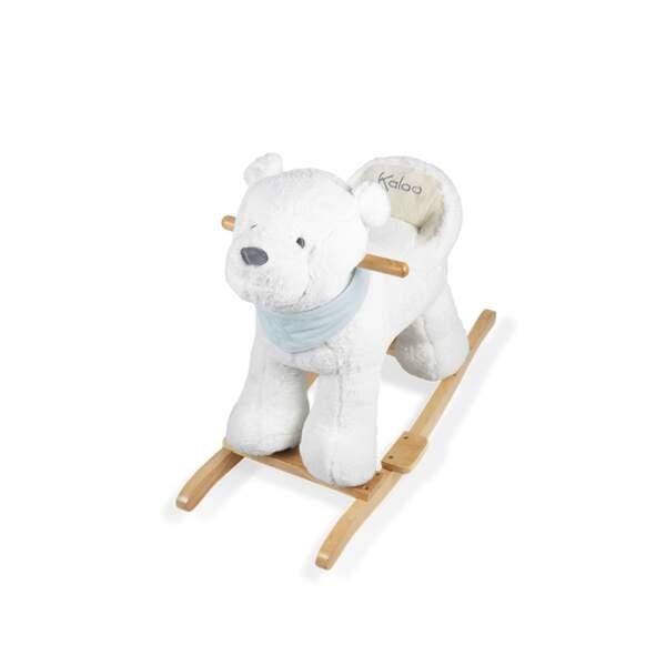Mon premier ours à bascule