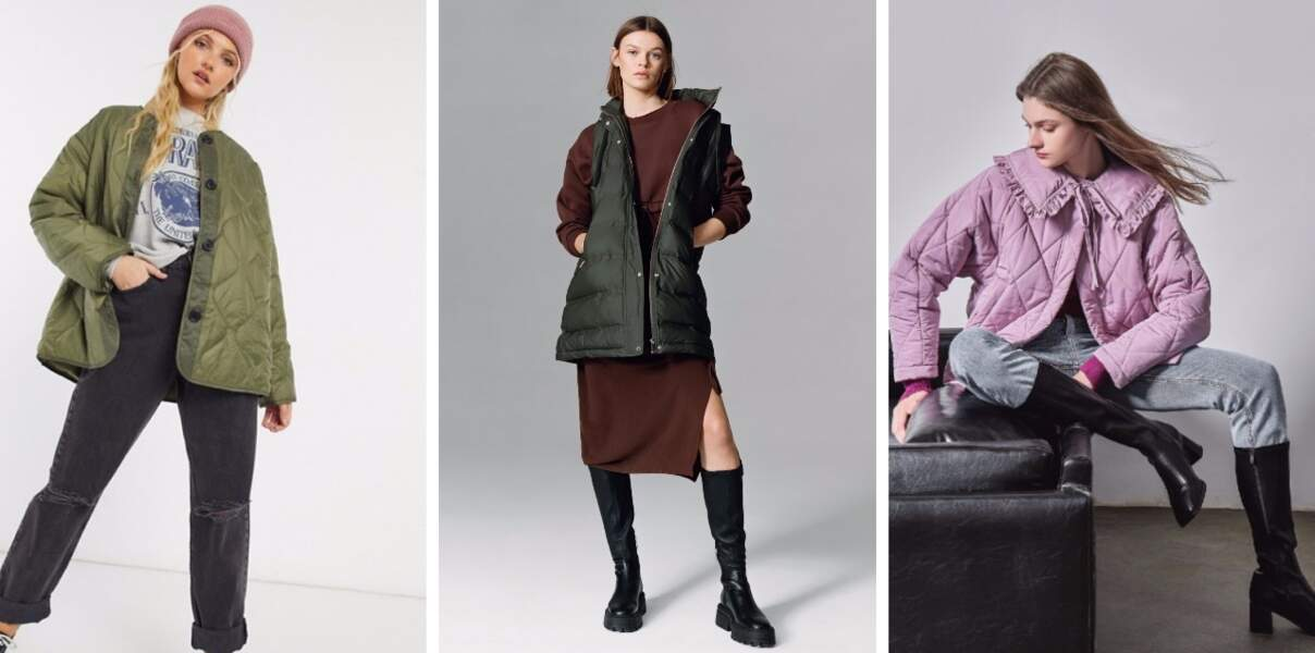 Manteau matelassé : nos 15 modèles coups de coeur