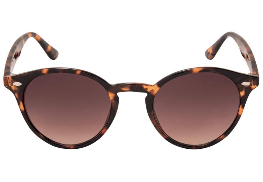 Des lunettes écaille