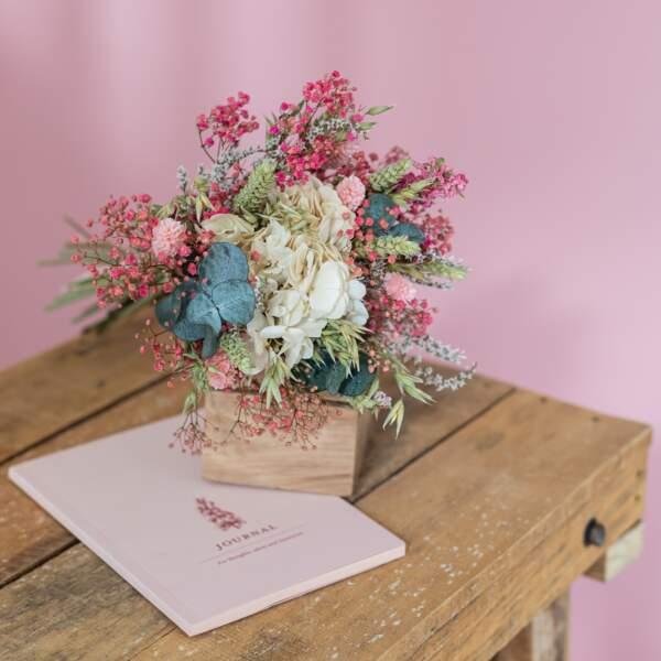 Flowrette : bouquet de fleurs séchées Hector