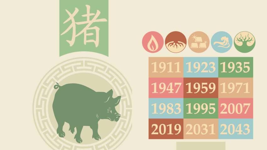 Horoscope chinois 2021 du Cochon : les prévisions de Marc Angel