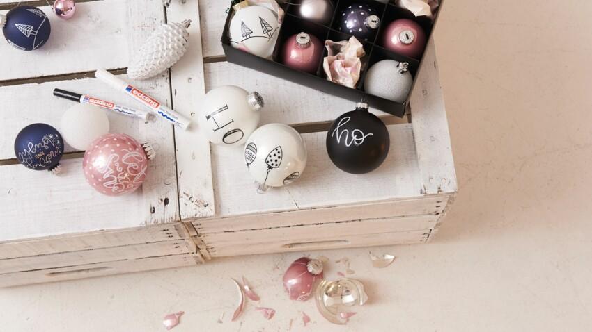 DIY Noël : des jolies boules de Noël à réaliser avec les enfants