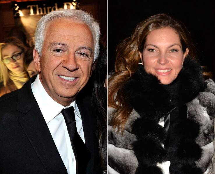 Mareva Georges, Miss France 1991, et Paul Marciano