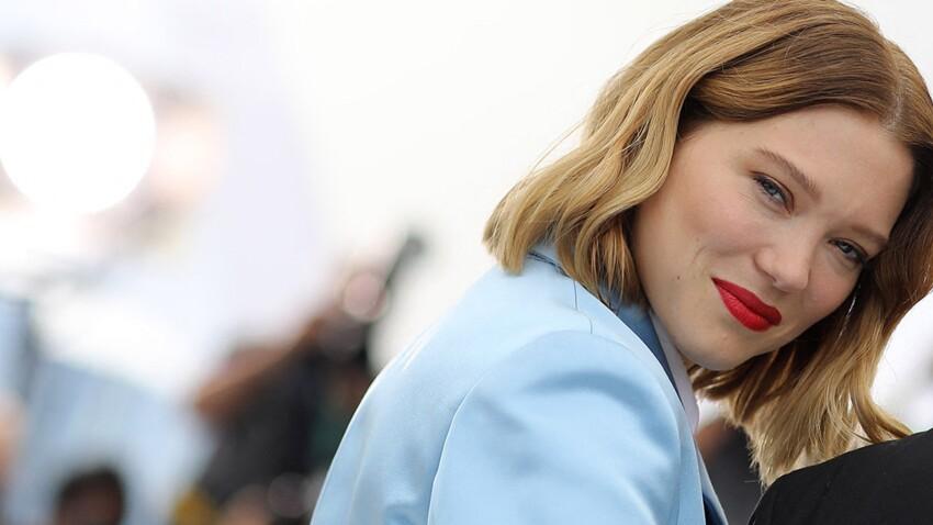Léa Seydoux méconnaissable : elle change radicalement de look et s'éclate en Vuitton (vous aimez ?)