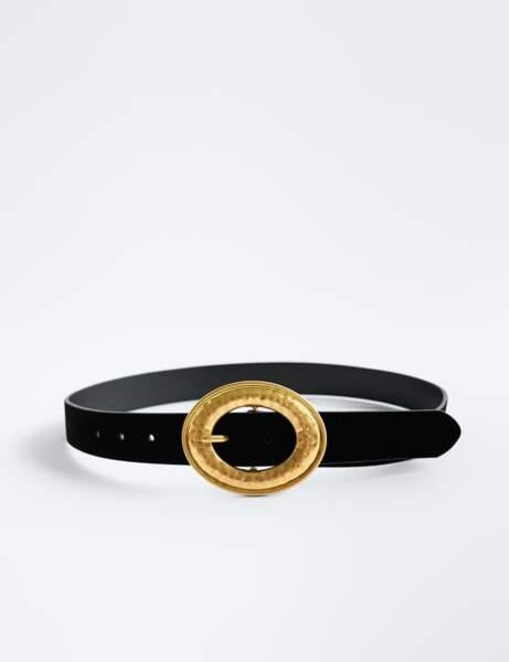 Nouveautés Zara : ceinture à velours