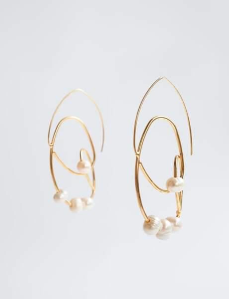 Nouveautés Zara : boucles d'oreilles