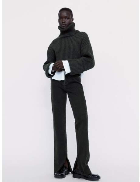 Nouveautés Zara : jean flare