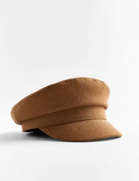 Nouveautés Zara : casquette de marin
