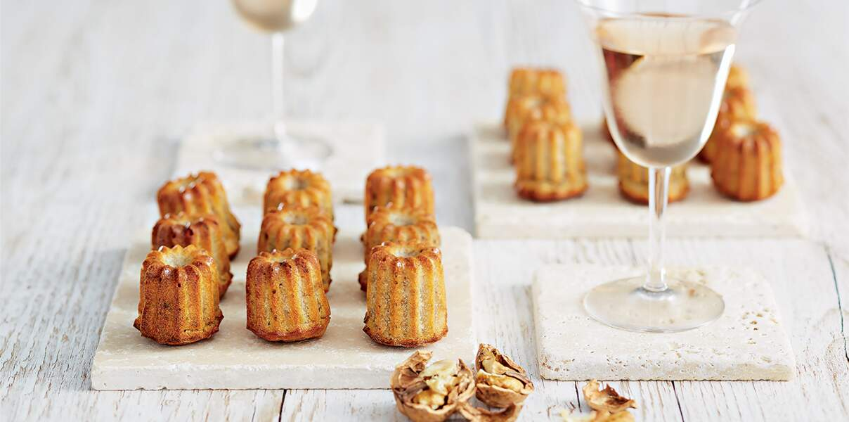 Mini-cannelés fromagers