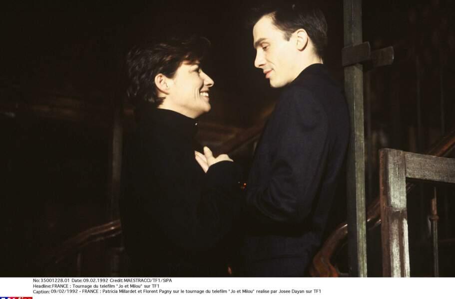Patricia Millardet et Florent Pagny