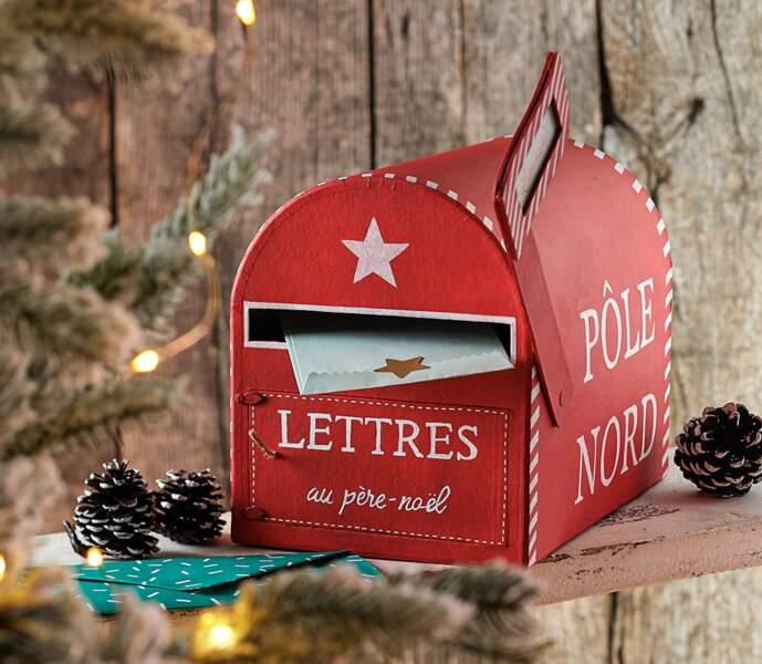 Déco de fêtes : comment peindre une boîte aux lettres pour le Père Noël