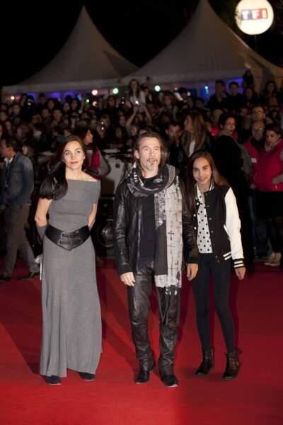 Florent, Azucena et leur fille Aël Pagny