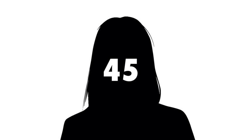 45e féminicide: un homme tue sa femme de 40 coups de couteau et se suicide