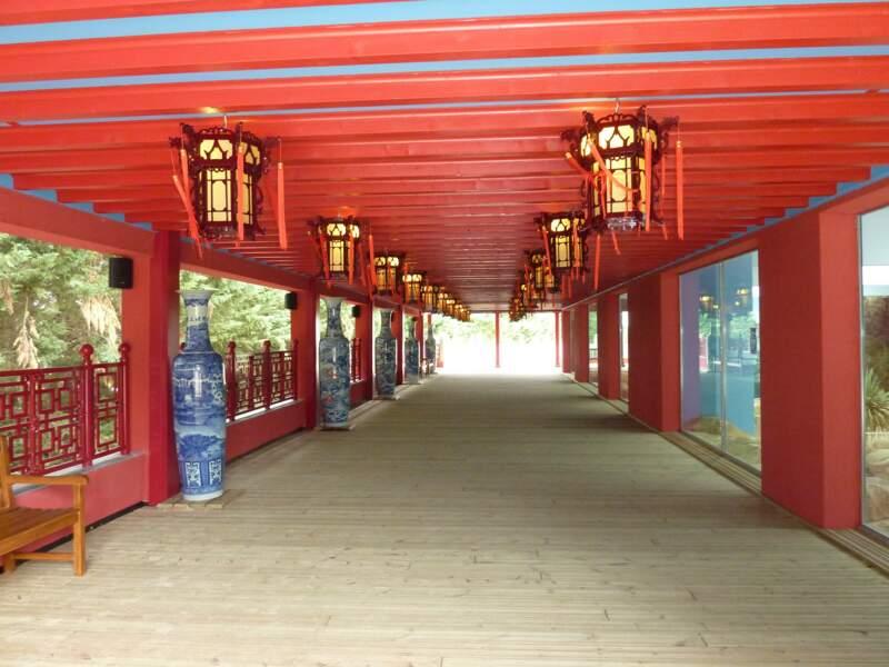 Les somptueux décors des Hauteurs de Chine.