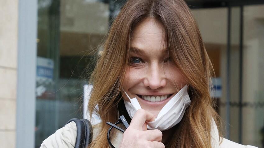 Carla Bruni ressort un cliché en combi de tigresse (canon !)