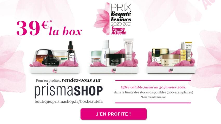 Bon plan : découvrez nos box beauté Femme Actuelle à partir de 39 euros