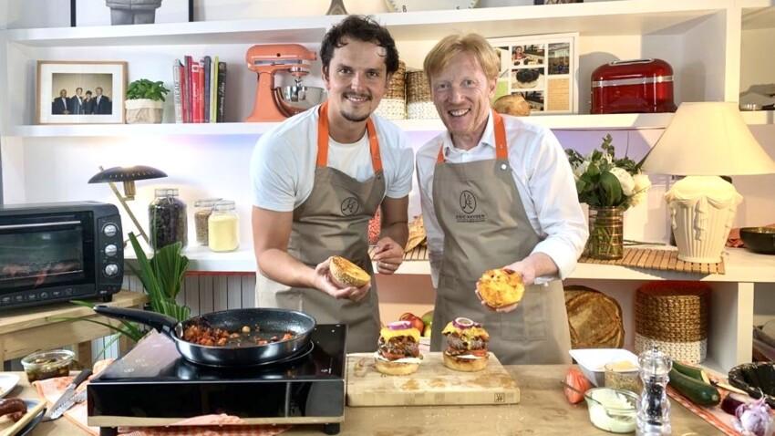 Le burger de la pampa d'Eric Kayser et Juan Arbelaez