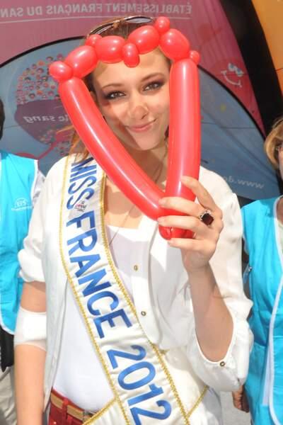 Delphine Wespiser - Miss France 2012