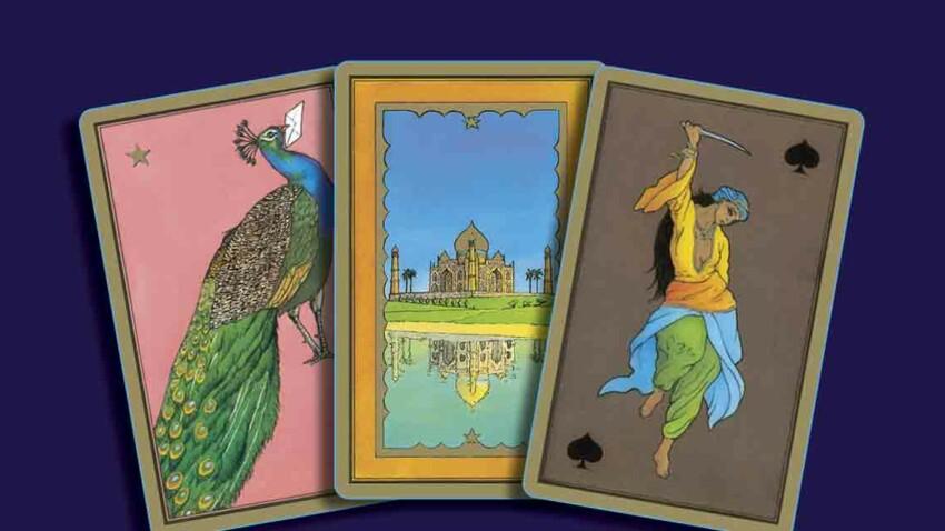 Tarot persan de Madame Indira : tirage et signification des 55 cartes