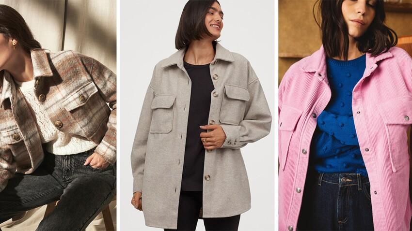 Tendance surchemise : voici les plus belles vestes à adopter cet hiver (on adore !)
