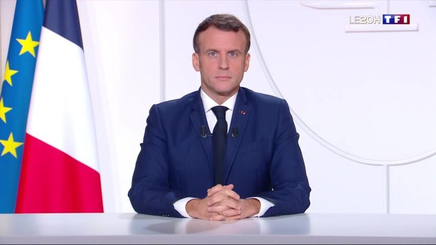 Allocution d'Emmanuel Macron : ce détail physique qui agace fortement les internautes