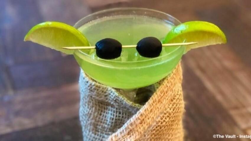 Cocktail Baby Yoda : la boisson tendance des stars !