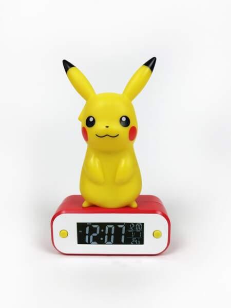 Lampe-réveil Pikachu