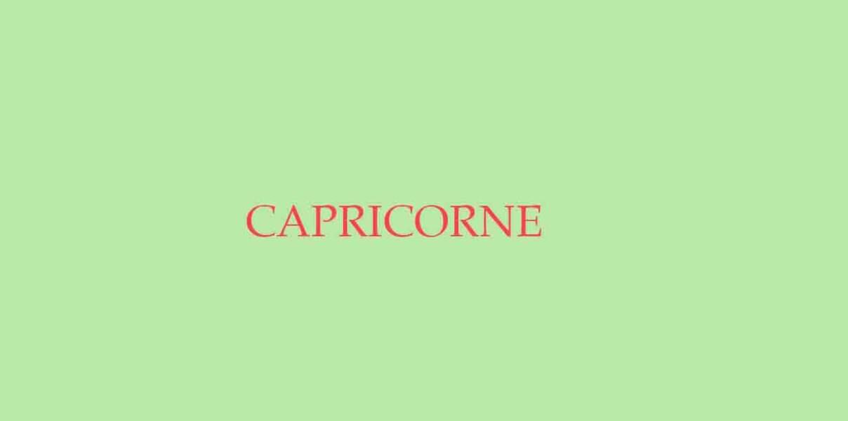 Menu de Noël pour le Capricorne