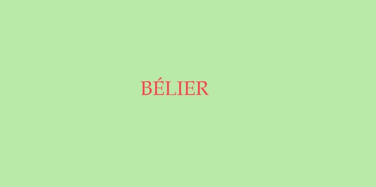Menu de Noël pour le Bélier