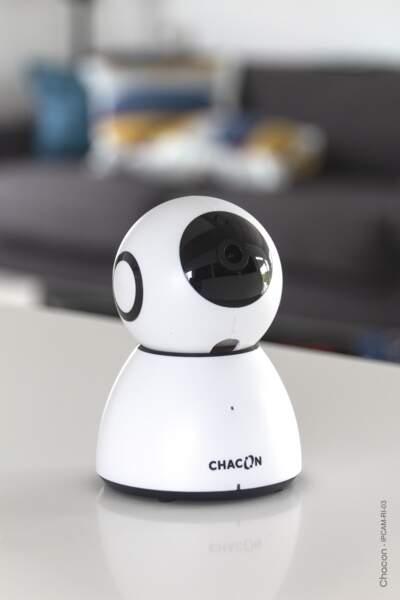 Caméra Wi-Fi HD rotative intérieure