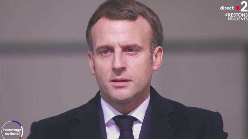 Emmanuel Macron : les larmes du Président aux Invalides surprennent les téléspectateurs - VIDEO