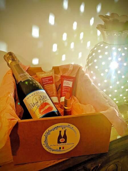 Pauline et Alexandre : Box beauté et champagne