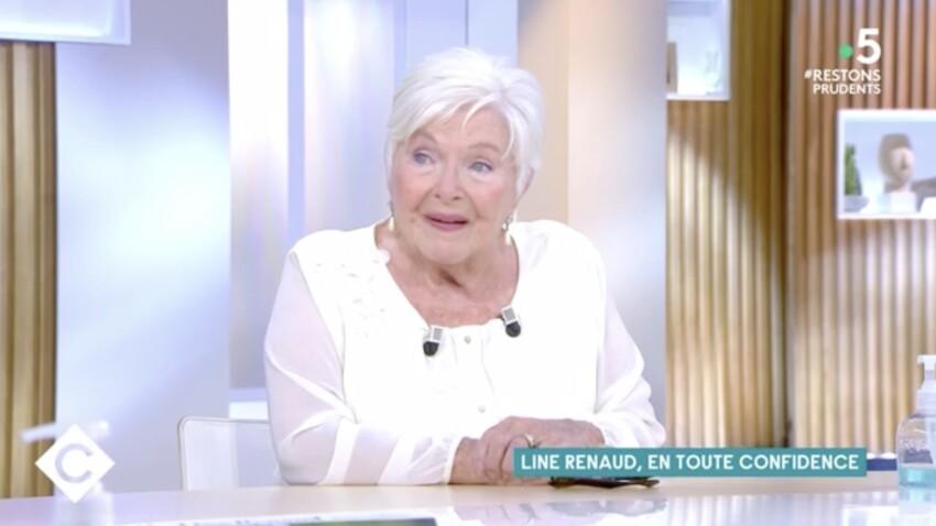 """Line Renaud très émue en évoquant sa mère """"qui souhaitait mourir"""""""
