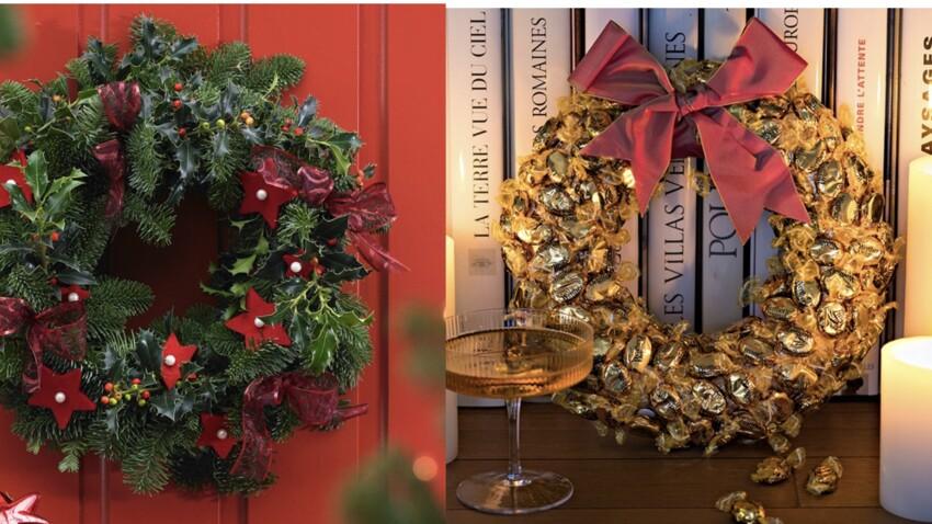6 idées créatives pour réaliser des couronnes de Noël