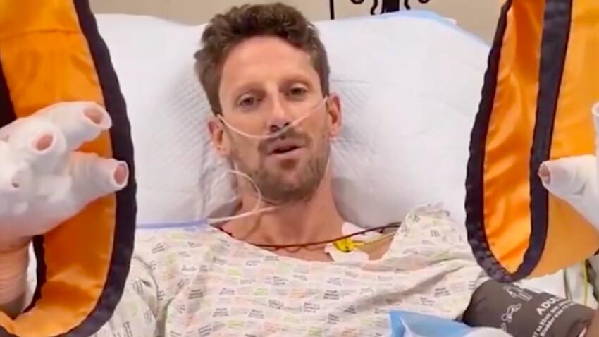 Romain Grosjean, victime d'un crash : il donne de ses nouvelles