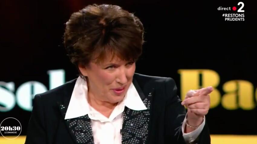"""Roselyne Bachelot, agacée par la question de Laurent Delahousse : """"Vous êtes un pervers"""""""