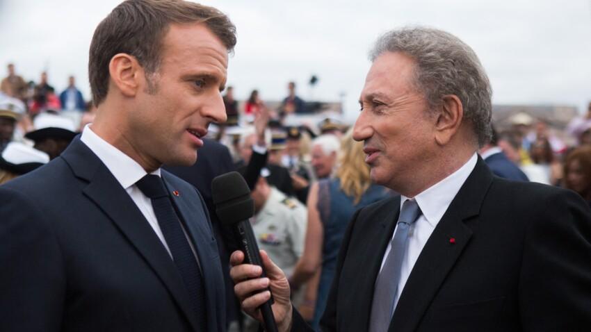 Michel Drucker : le message de soutien d'Emmanuel Macron qui lui a permis de s'accrocher