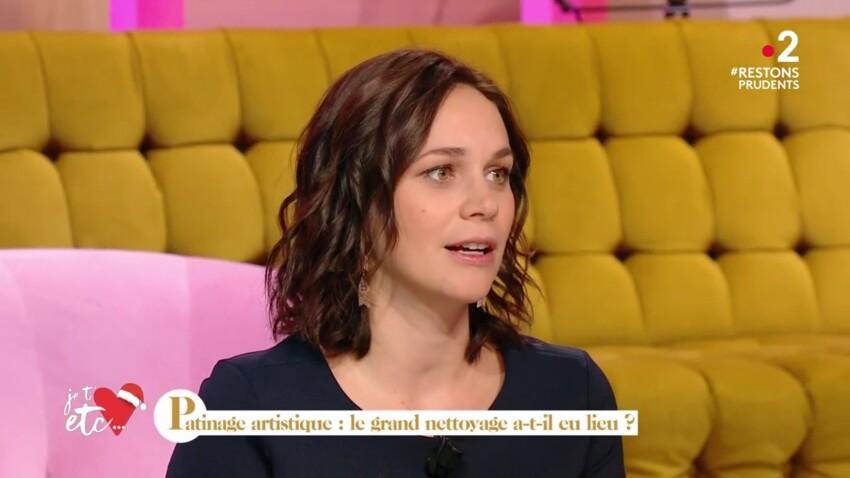 Nathalie Péchalat enceinte : elle dévoile son ventre arrondi sur un plateau TV