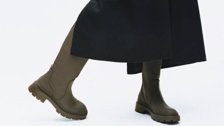 """Bottes et bottines à semelles """"track"""" : voici les nouvelles chaussures qui font fureur"""