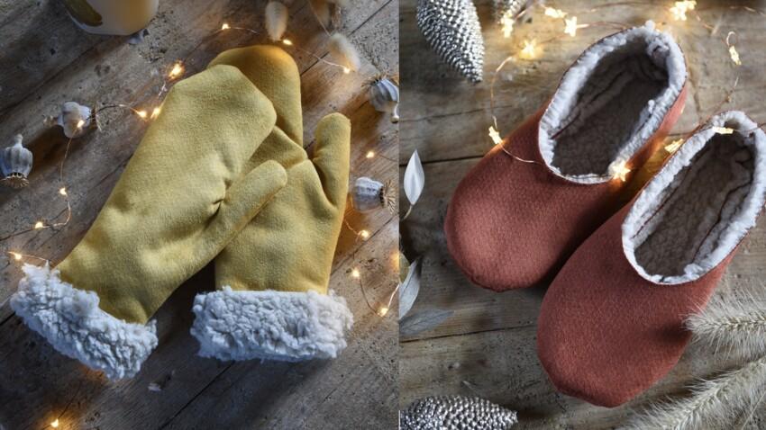 Moufles, chaussons, pochette : 3 créations maison à offrir à Noël
