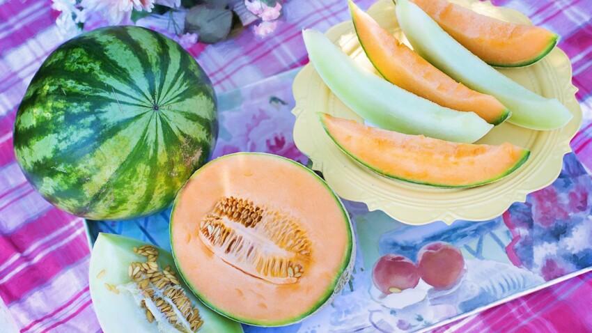 Melon, pastèque : les bienfaits santé de ces fruits gorgés d'eau