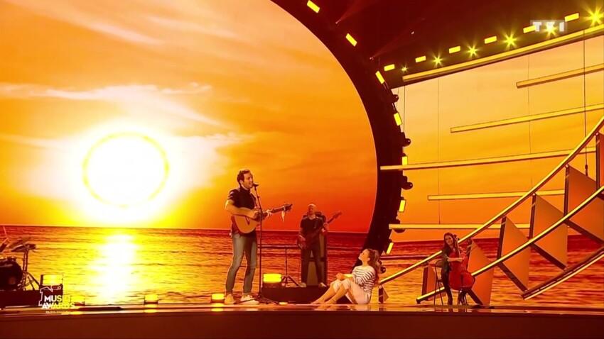 """""""NRJ Music Awards"""" : Vianney partage la scène avec sa femme Catherine"""