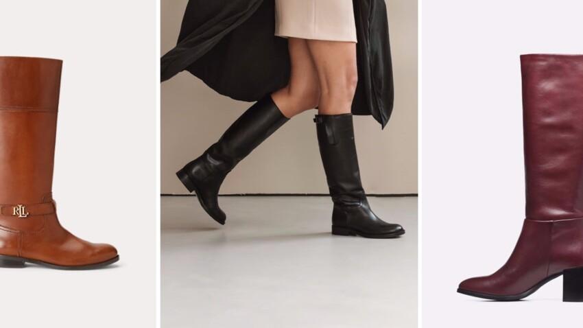 Tendance bottes cavalières : 15 nouveautés canons à adopter cet hiver